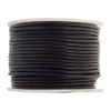 Leather Round Cord 1.5mm Dark Burgundy